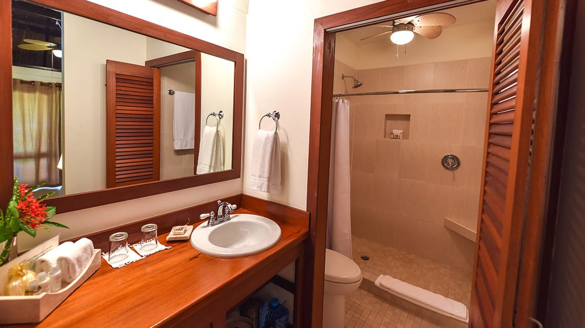 Bathroom in Casita at Victoria House Resort and Spa