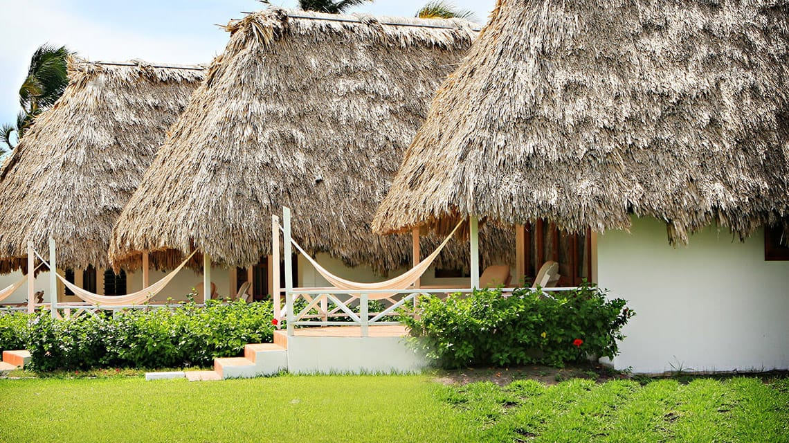 Exterior of Casitas at Victoria House Resort and Spa, Belize