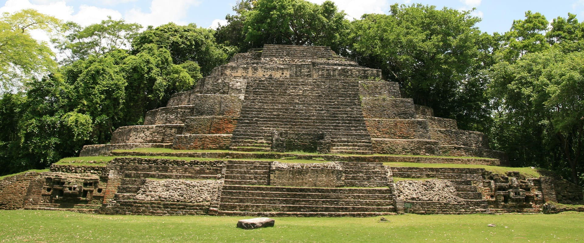 Ancient Mayan ruins in Belize