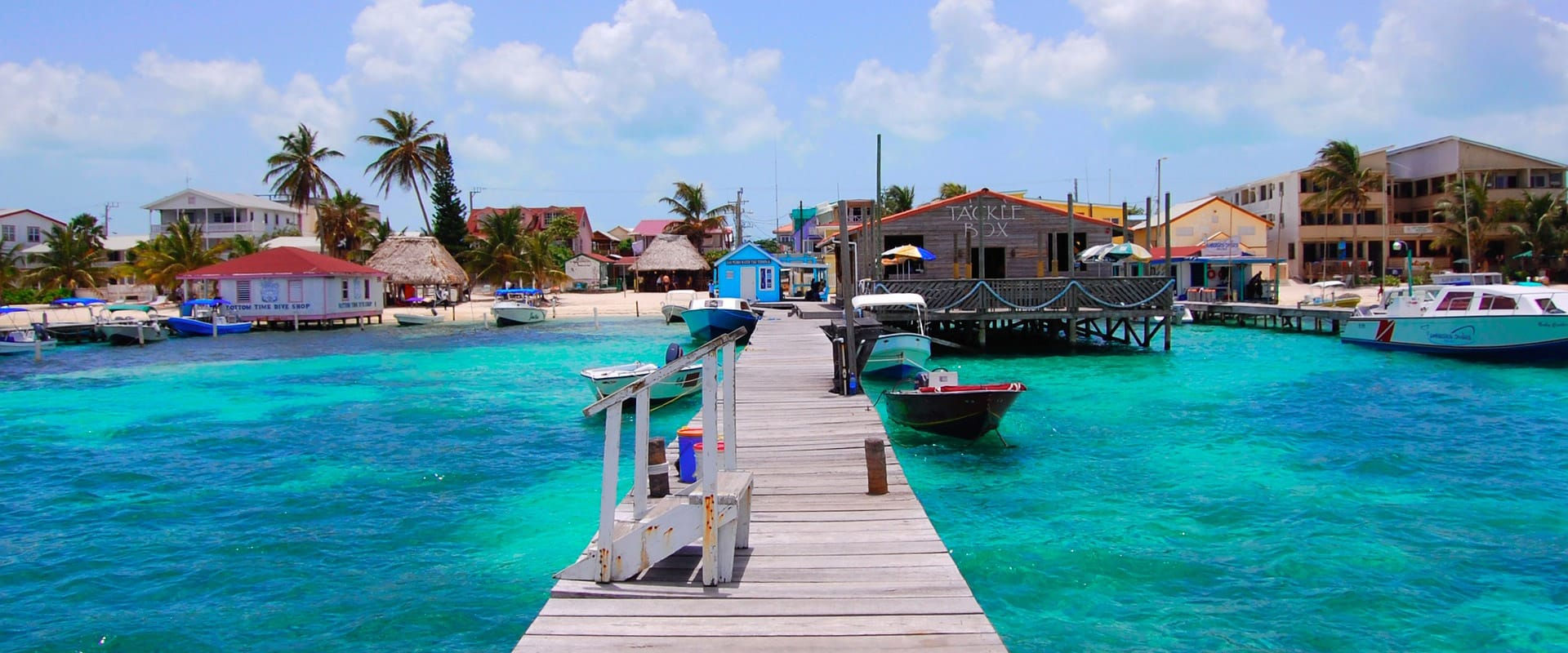 Dock off of San Pedro, Ambergris Caye