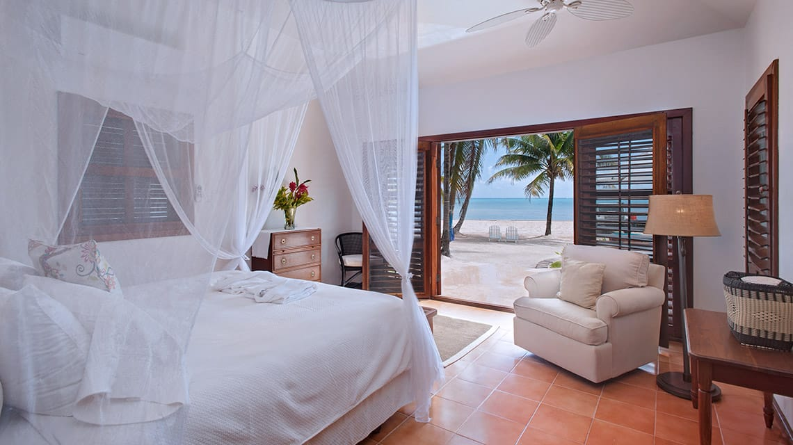Bedroom in Casa Playa Blanca at Victoria House Resort and Spa