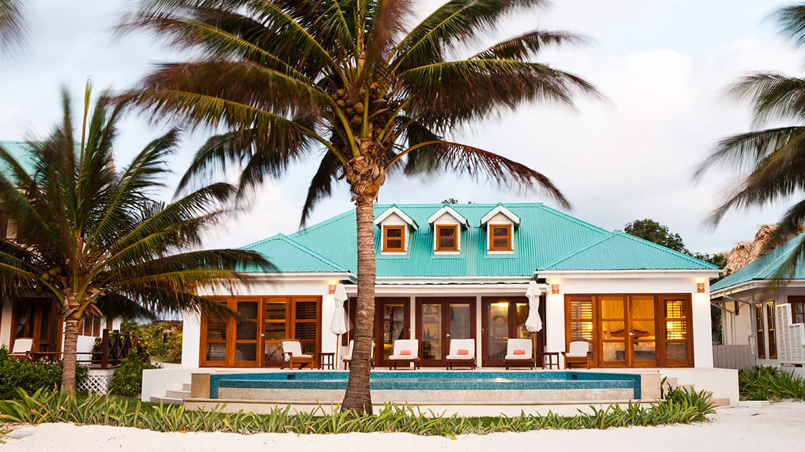 Exterior of Casa Playa Blanca at Victoria House Resort and Spa, Belize