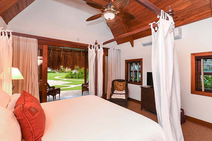 Bedroom at Victoria House Resort and Spa