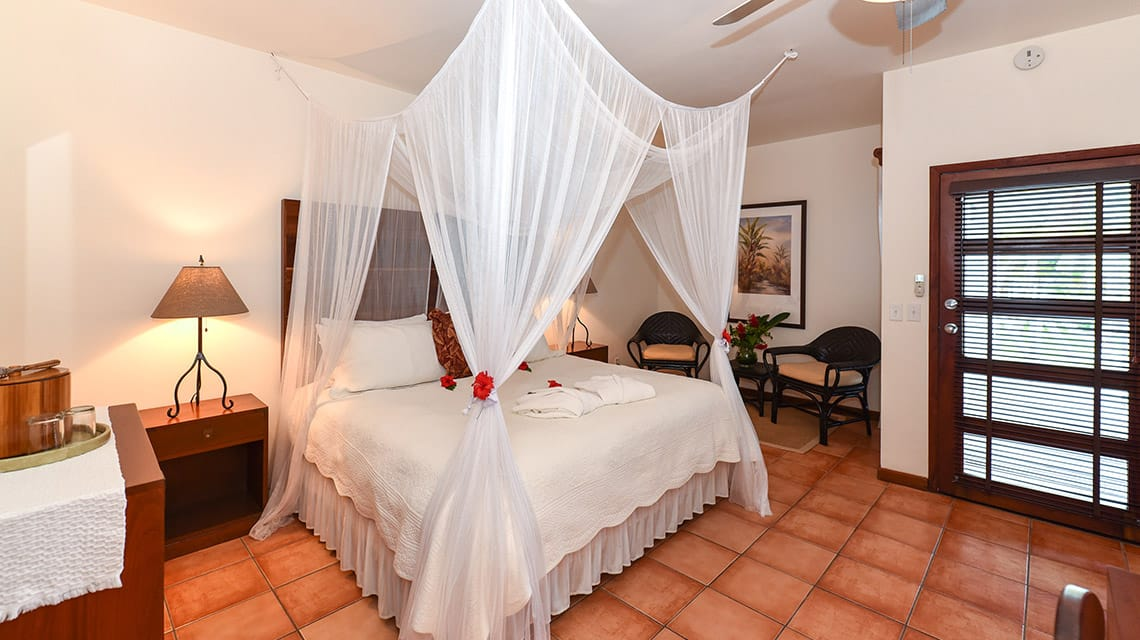 Bedroom in State Room at Victoria House Resort and Spa, Belize
