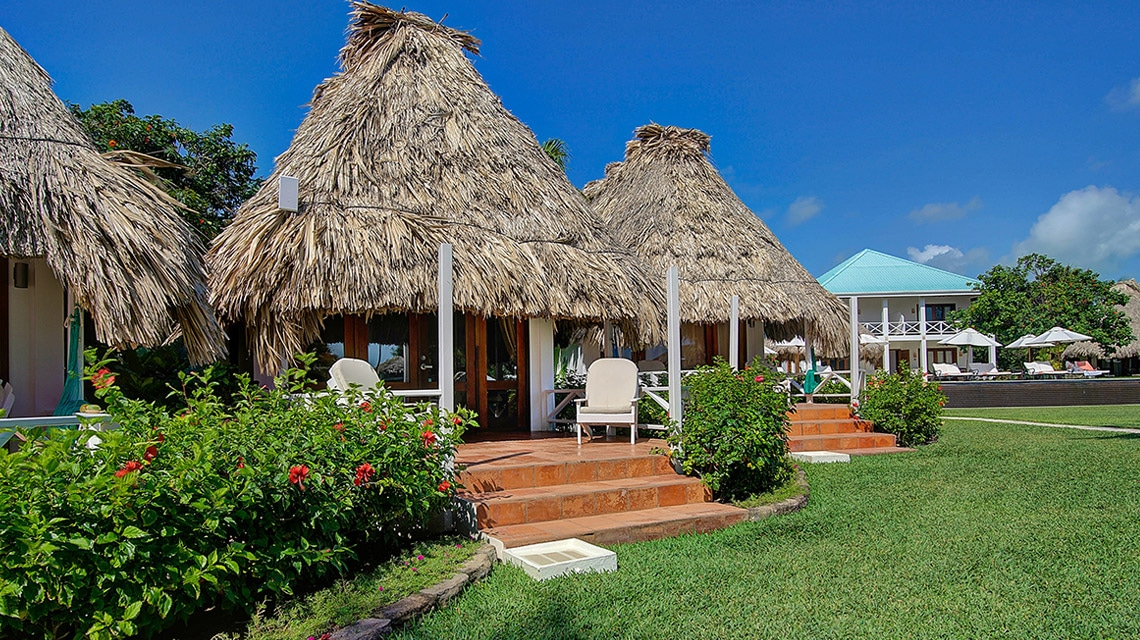 Exterior of a Casita at Victoria House Resort and Spa, Belize