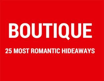 Boutique Most Romantic Hideaways