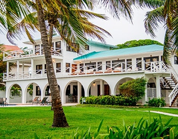 Exterior of Casa Azul at Victoria House Resort and Spa, Belize
