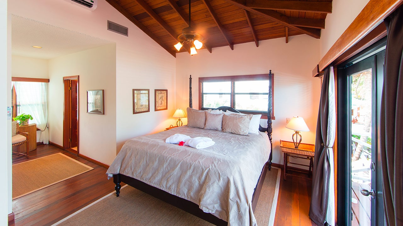 Bedroom in Casa Azul at Victoria House Resort and Spa