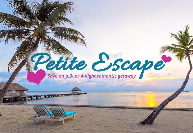 Victoria House Resort and Spa's Petite Escape seasonal special