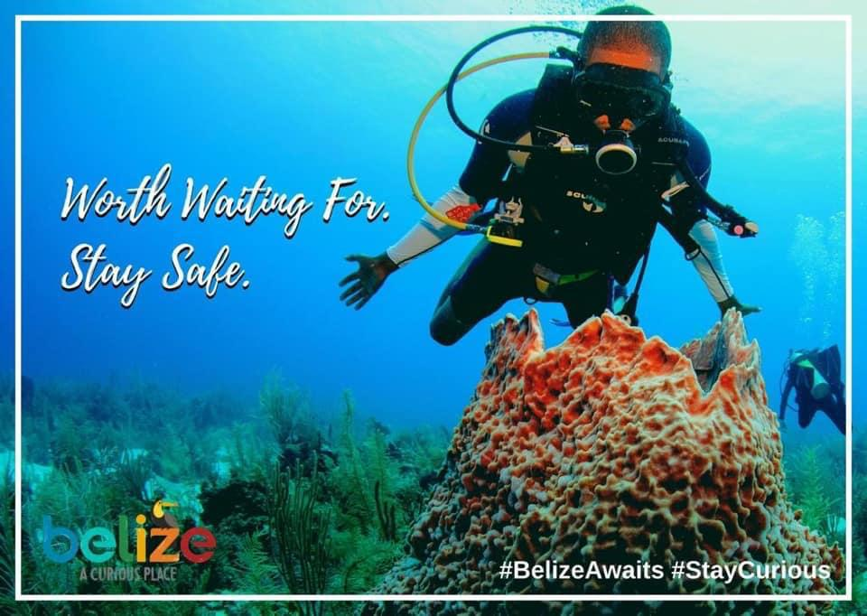 Scuba Diver in Belize