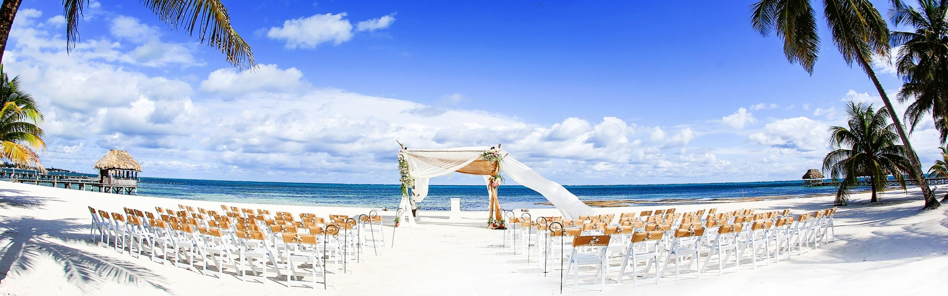 Belize wedding on the beach at Victoria House Resort and Spa