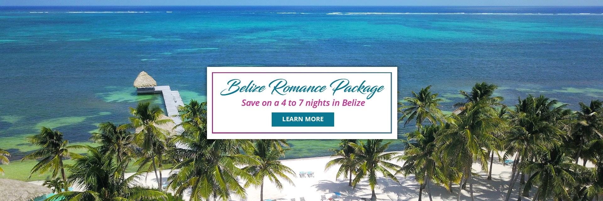 Belize Romance packages