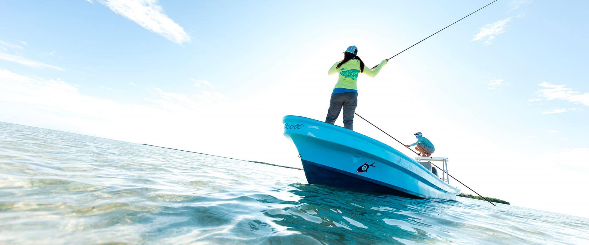 Fishing at Victoria House Resort and Spa, Belize