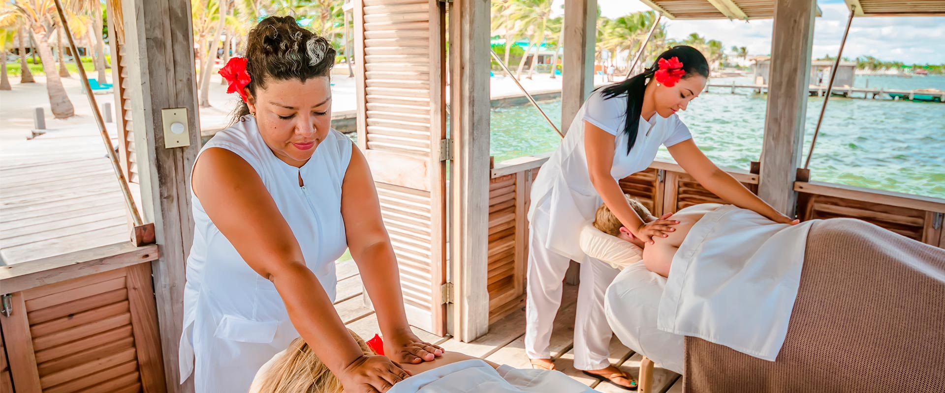 Spa treatment at Victoria House