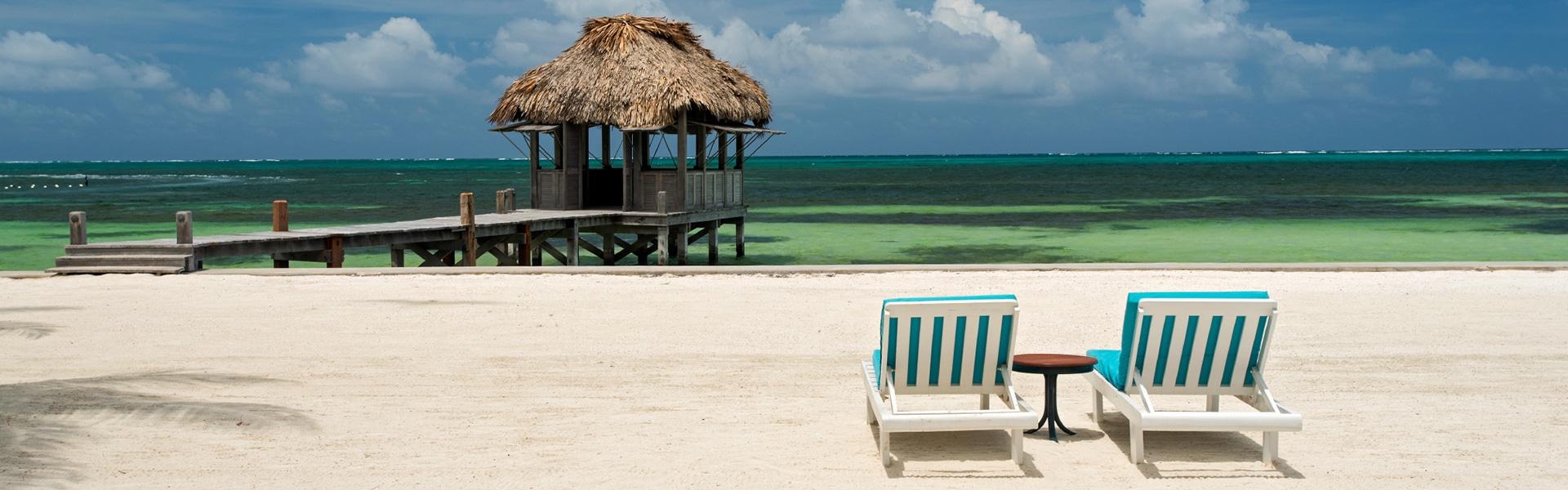 Victoria house beach resort Belize