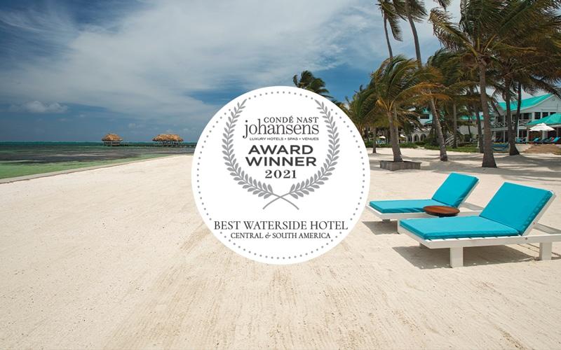 2020Conde Nst Award Winner at Victoria House Resort & Spa, Belize