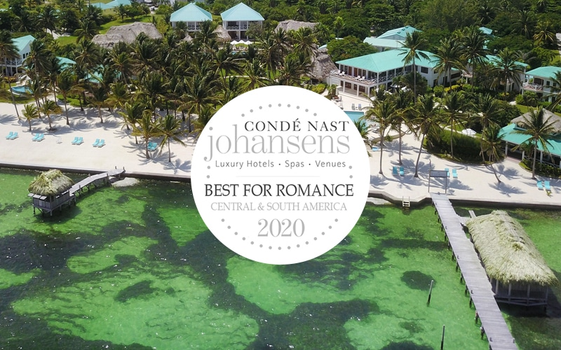 Conde Nast best for Romance at Victoria House Resort & Spa, Belize